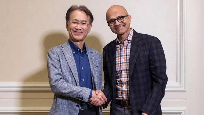 Photo of همکاری نزدیک سونی و مایکروسافت در حوزه گیمینگ و پردازش ابری بازیها