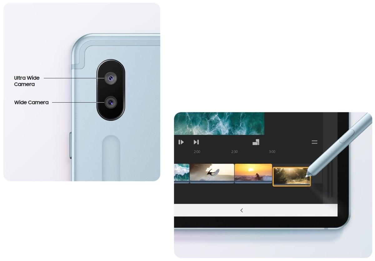 galaxy tab s6 camera