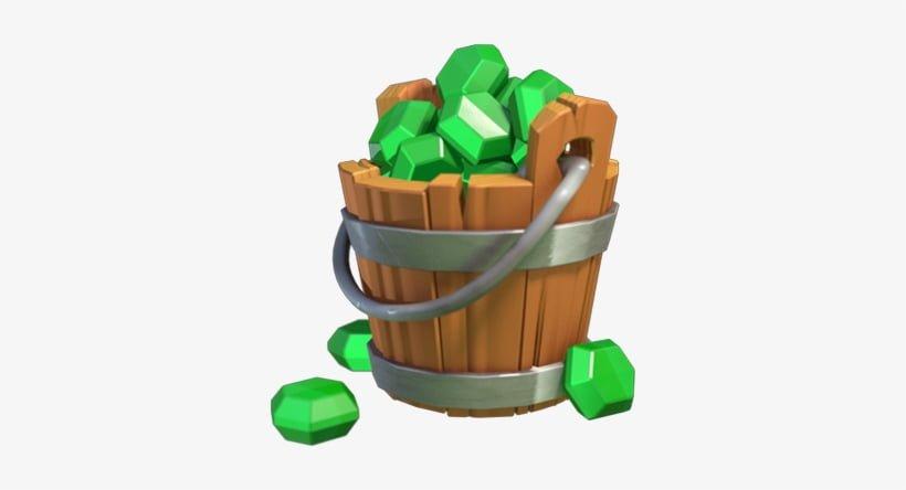 gem-bucket-clash-of-clans-