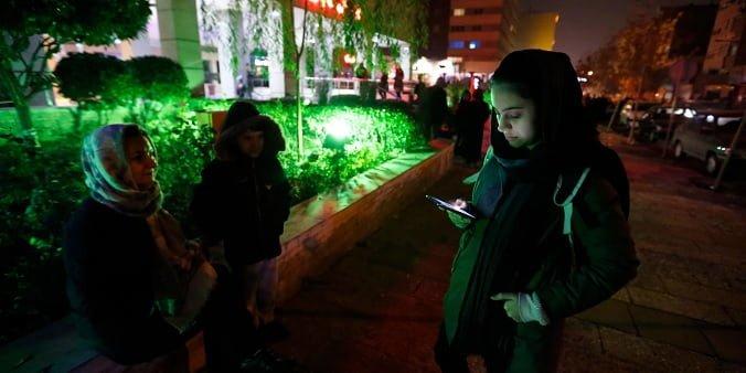 عدم استفاده از اینترنت در ایران