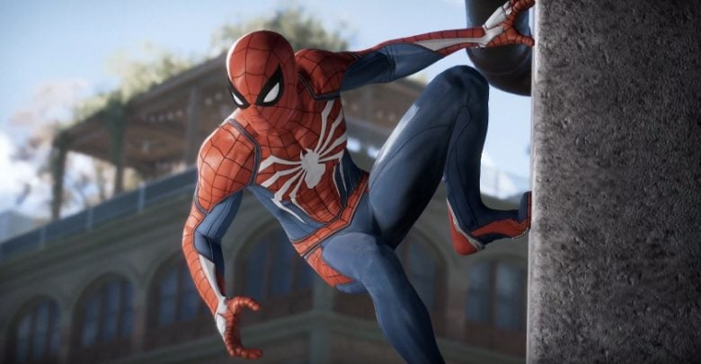 Spiderman ps4 2018