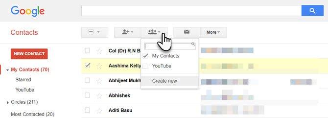 Group-Email-Group ایجاد ایمیل گروهی