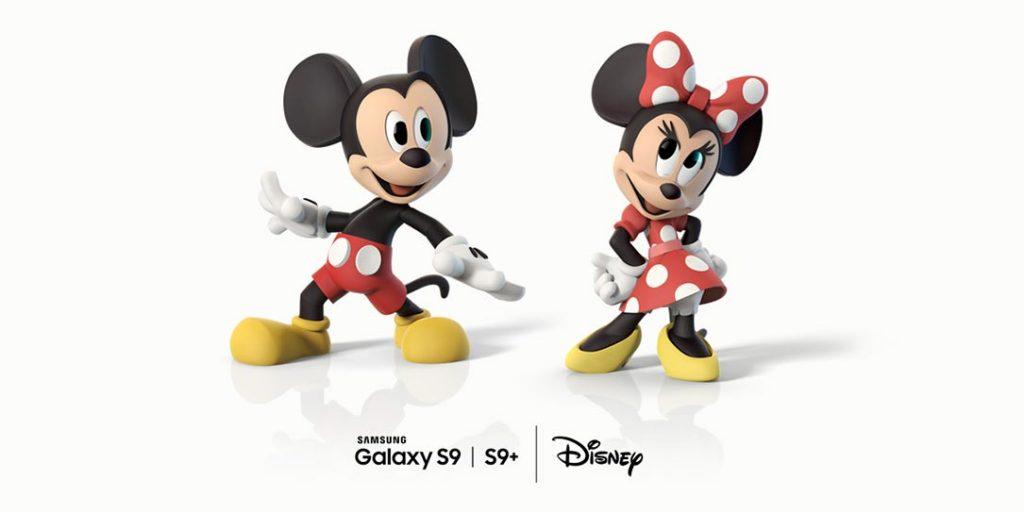 Samsung-Galaxy-S9-Disney سامسونگ گلکسی اس 9 پلاس