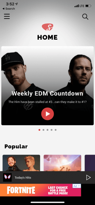 Slacker-Radio-Main-Page-