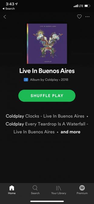 اپلیکیشن دانلود موزیک Spotify-Download-Music-Album-View