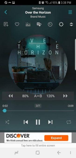 android-music-jetaudio اپلیکیشن موسیقی آفلاین
