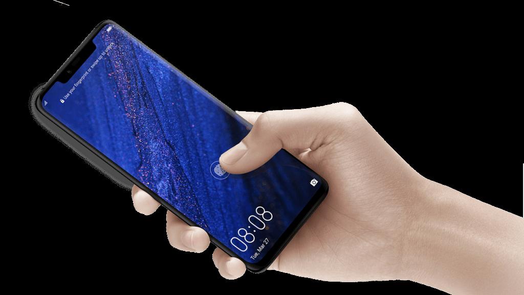 huawei mate20 pro fingerprint sensor