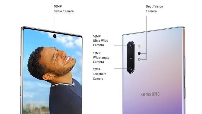 galaxy-note-10-cameras سامسونگ گلکسی نوت 10