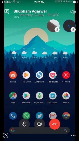 skype-screen-sharing-ios-app اپلیکیشن اشتراگ گذاری