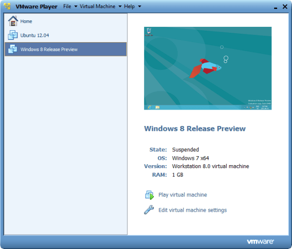 vmware-player-virtual-machines ماشین مجازی