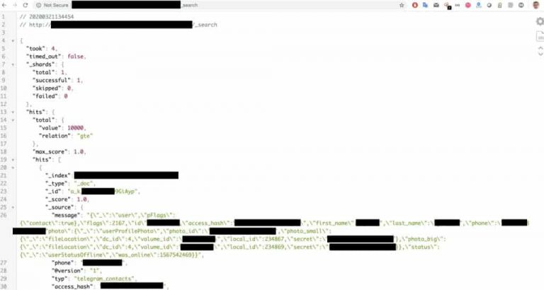افشای اطلاعات ۴۲ میلیون کاربر ایرانی  personal-details-phone-numbers-of-42m-iranians-sold-on-a-hacking-forum-3-768x410