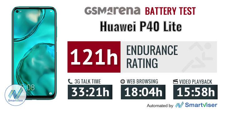 عمر باتری Huawei P40 Lite