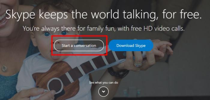 چگونه بدون حساب کاربری از اسکایپ