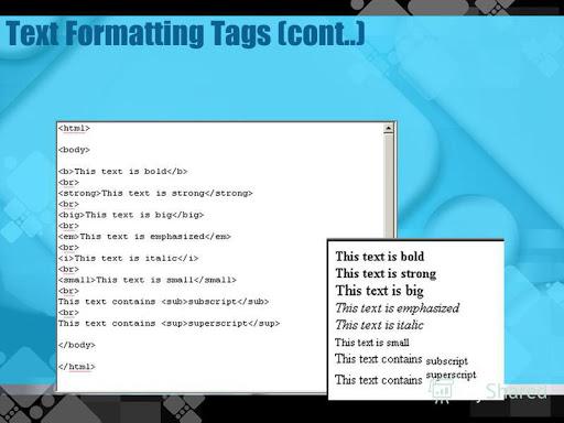یادگیری زبان HTML